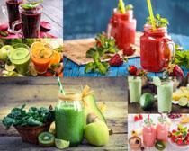 水果种类果汁摄影高清图片