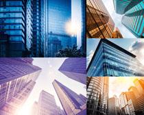 辦公高樓大廈攝影高清圖片