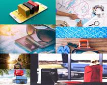 生活旅行包装备摄影高清图片