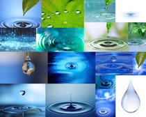 水滴效果摄影高清图片