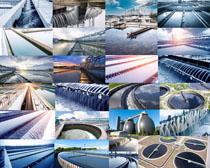 建筑水坝风景摄影高清图片