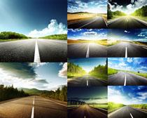 道路风景摄影高清图片