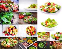 蔬菜水果沙拉摄影高清图片