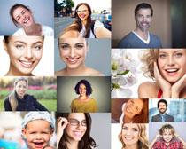 微笑的国外人物摄影高清图片