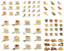 食物杏仁果子摄影高清图片