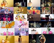 女士香水展示摄影高清图片
