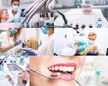 牙科医生人物摄影高清图片