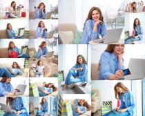 生活职业女子摄影高清图片
