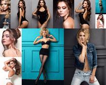 性感欧美女子写真摄影高清图片