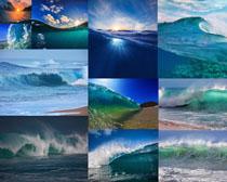 大海海浪摄影高清图片