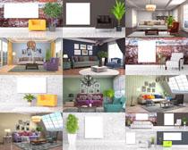 室內家居布置設計攝影高清圖片