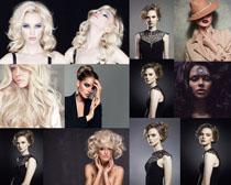 欧美化妆模特美女摄影高清图片