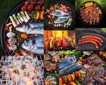 烧烤美食展示摄影高清图片