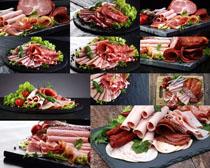 羊肉卷食材摄影高清图片