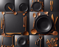 锅与勺子摄影高清图片