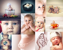 欧美可爱小宝宝摄影高清图片