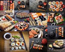 寿司食物展示拍摄高清图片