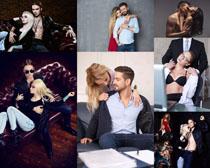 恩爱国外情侣摄影高清图片