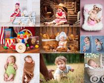 可爱欧美宝宝写真摄影高清图片