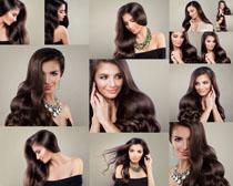 欧美美丽发型女人摄影高清图片
