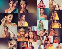 印度时装美女摄影高清图片
