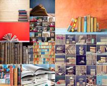学习与书本摄影高清图片