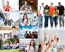欧美大学生人物摄影高清图片