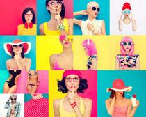 欧美时装美女摄影高清图片