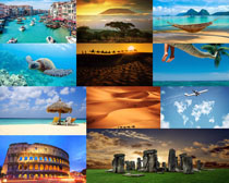 欧美旅游风光摄影高清图片