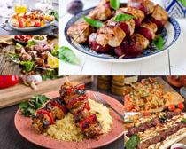 食物肉串摄影高清图片