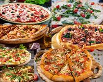 国外披萨食物摄影高清图片