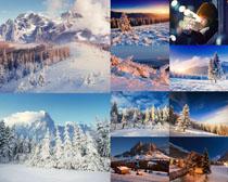 国外雪景风光摄影高清图片