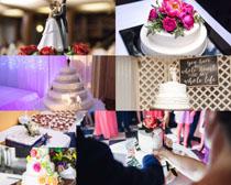 婚礼布置与蛋糕摄影高清图片