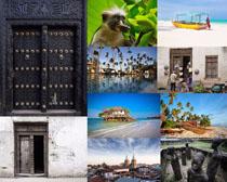 国外传统建筑拍摄高清图片