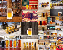 颜色啤酒摄影高清图片