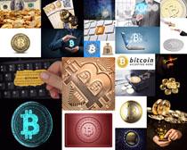 比特币金融商务摄影高清图片