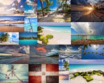 海滩自然风景摄影高清图片