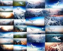 城市無人機攝影高清圖片