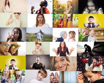 欧美表情人物摄影高清图片