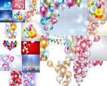 色彩气球拍摄高清图片