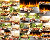 烤肉与食材摄影高清图片