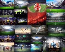 体育足球运动员摄影高清图片