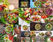 蔬菜沙拉食物摄影高清图片