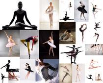 跳芭蕾舞的女人摄影高清图片