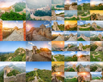 美丽的长城景观拍摄高清图片
