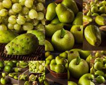 青色国外水果摄影高清图片