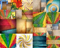 彩色图案背景拍摄高清图片