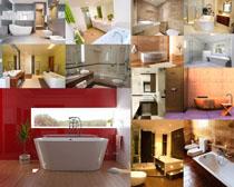 洗浴间装修风格摄影高清图片