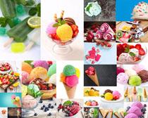 水果冰淇淋拍摄高清图片