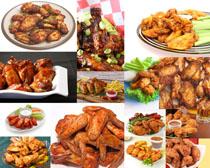 炸鸡腿食物摄影高清图片
